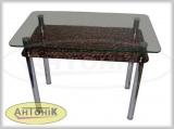 Стеклянные кухонные столики Антоник
