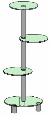 Подставка под вазоны Антоник - 1