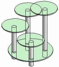 Подставка под вазоны Антоник - 5