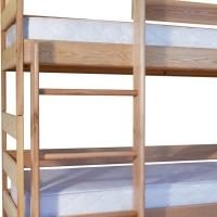 Ясна - двухъярусная кровать-трансформер из цельного массива бука