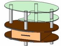 Журнальный столик Антоник СТ-604