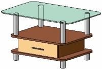 Журнальный столик Антоник СТ-605