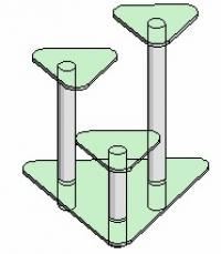 Подставка под вазоны Антоник - 4