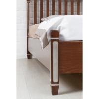 Кровать Олимп Монако с патиной и фрезеровкой