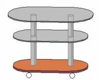 Журнальный столик Антоник СТ-608