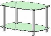 Журнальный столик Антоник СТ-103