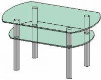 Журнальный столик Антоник СТ-105