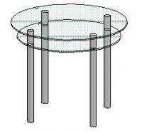 Кухонный столик Антоник КС-3