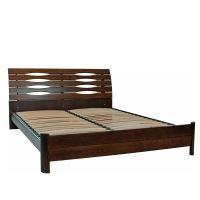 Кровать Олимп Марита S на ламелях (массив бука полностью)