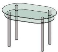 Кухонный столик Антоник КС-6